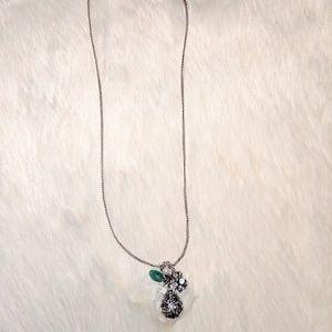 Silver Dangle Necklace